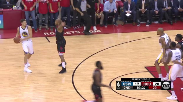 WSC: Stephen Curry 22 points vs the Rockets