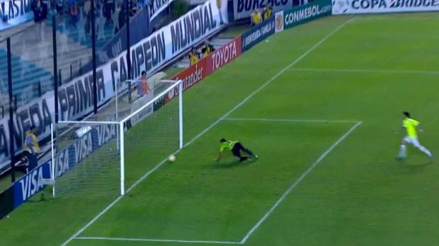 Copa Libertadores: Torwart-Bock in letzter Sekunde