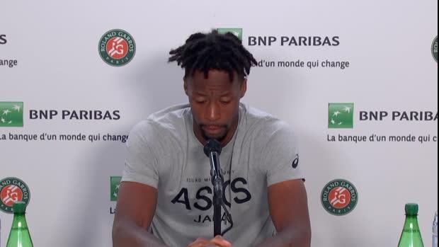 """Basket : Roland-Garros - Monfils - """"Mes objectifs sont très élevés"""""""