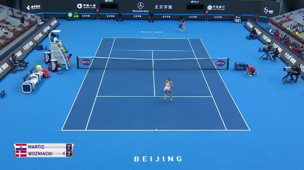 : Pékin - Wozniacki en 8es sans forcer