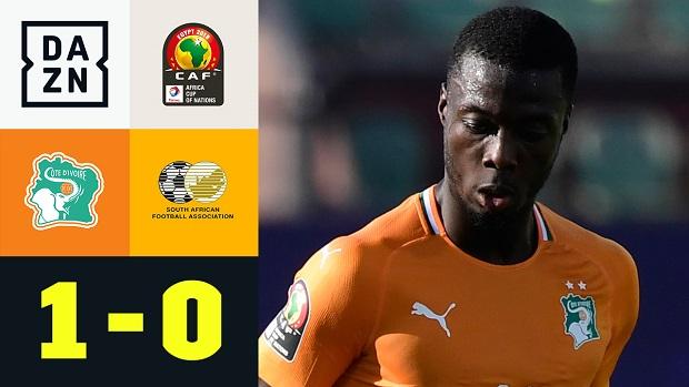 Afrika-Cup: Elfenbeinküste - Südafrika | DAZN Highlights