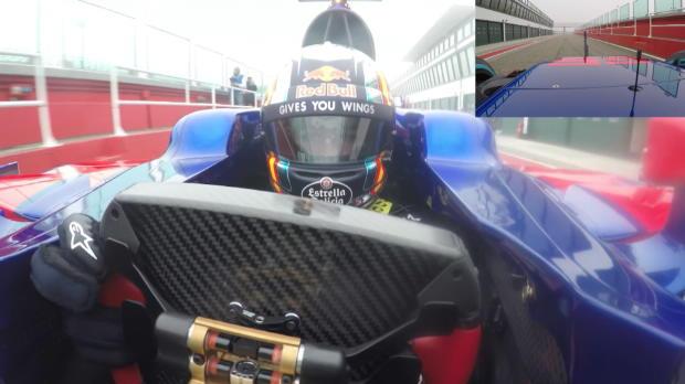 Así ve Carlos Sainz Jr el asfalto desde su monoplaza