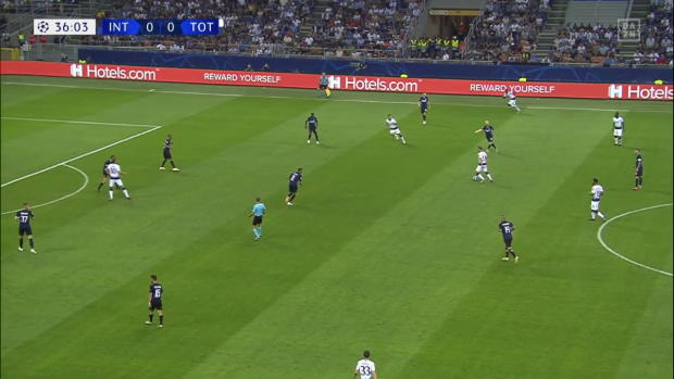 UEFA Champions League: Inter Mailand - Tottenham Hotspur | DAZN Highlights