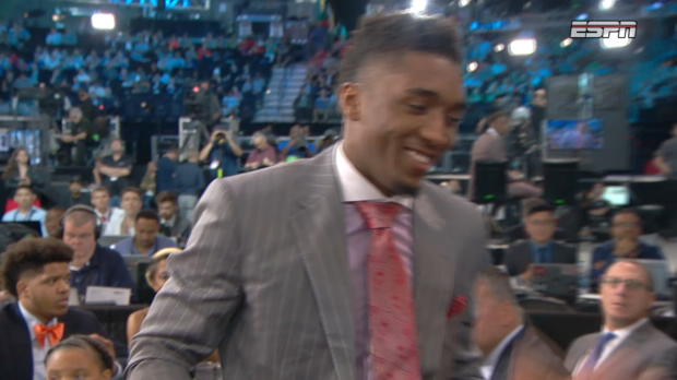 Donovan Mitchell Drafted by the Denver Nuggets