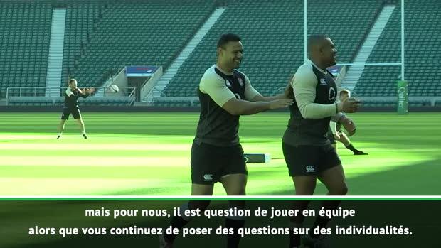 """Rugby : Angleterre - Vunipola - """"L'impact de Tuilagi est parfois inégalé... mais nous sommes une équipe !"""""""