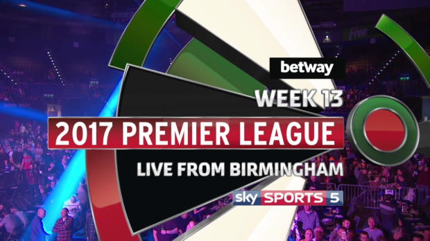Premier League Darts: Birmingham