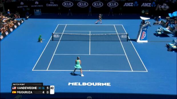 تنس: بطولة استراليا المفتوحة: فانديواغ الى نصف النهائي الأول