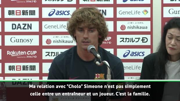 La Liga - Griezmann - 'Simeone, c'est la famille'