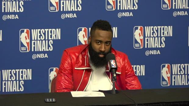 """Basket : Playoffs - Harden - """"On s'est battu du mieux que l'on pouvait"""""""