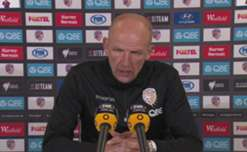Perth coach Kenny Lowe said he was happy with his side's performance in their hard-fought 3-1 win over Brisbane Roar.