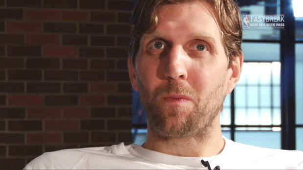 """Fastbreak: Nowitzki exklusiv: Viererlinie? """"Kann's mir vorstellen"""""""