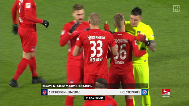 2. Bundesliga: 1. FC Heidenheim 1846 - Holstein Kiel | DAZN Highlights