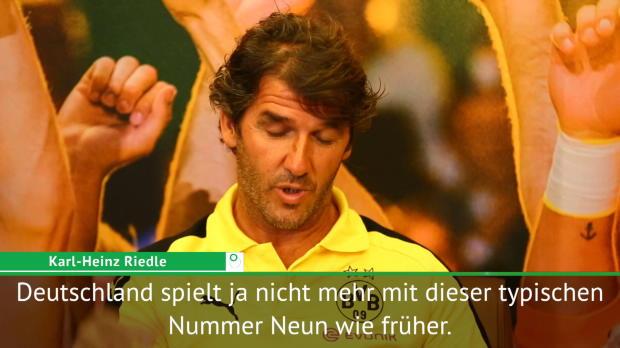 """Riedle adelt: """"Werner ist ein Typ wie Owen"""""""