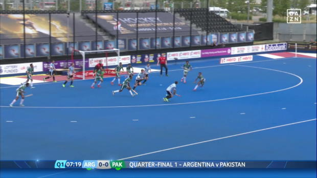 Hockey: Argentinien - Pakistan