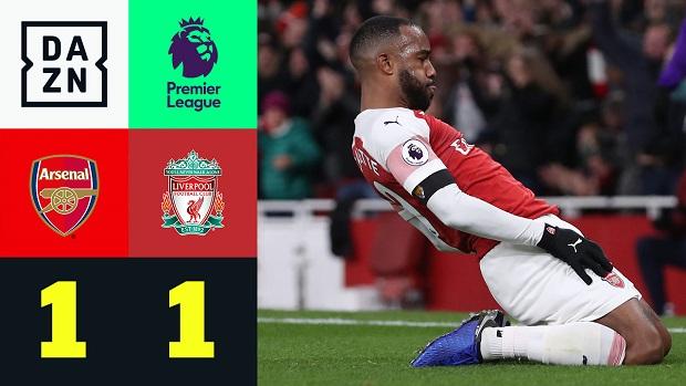 Premier League: Arsenal - Liverpool   DAZN Highlights