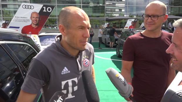 """Robben: """"Champions-League-Sieg ist das Ziel"""""""