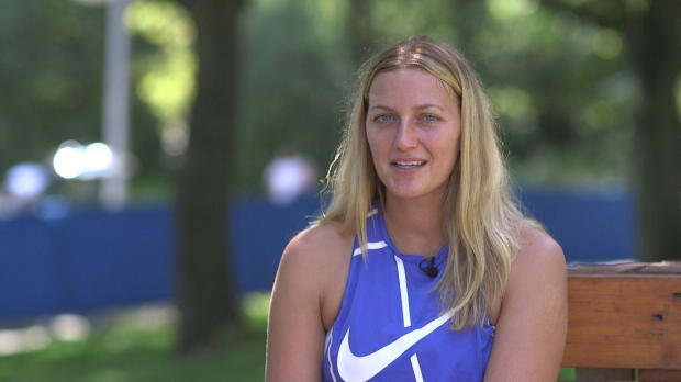 Kvitova: Emotionales Comeback nach Attacke