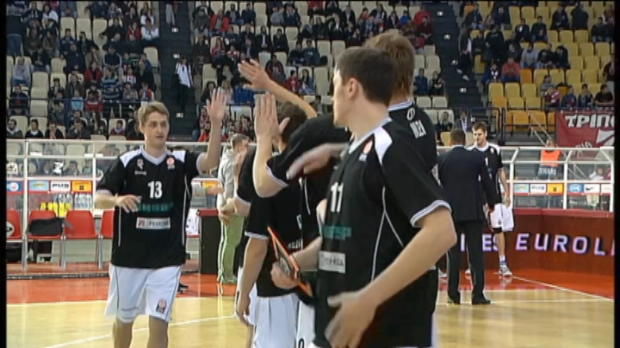 Lojewski führt Piräus zum Sieg