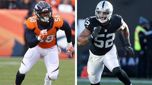 Von Miller or Khalil Mack? Who would you rather start your franchise with?