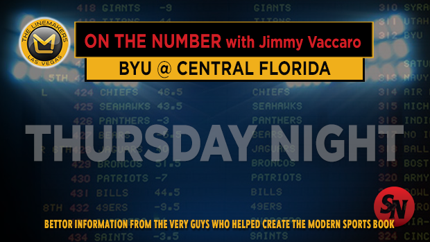Jimmy V on BYU @ UCF