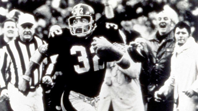 """""""The Immaculate Reception"""" 1972 AFC Divisional Round: Raiders vs. Steelers highlights"""