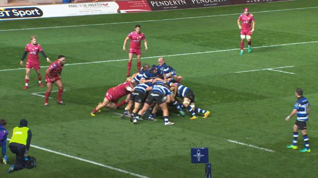 Aviva Premiership - Match Highlights - Scarlets v Bath Rugby