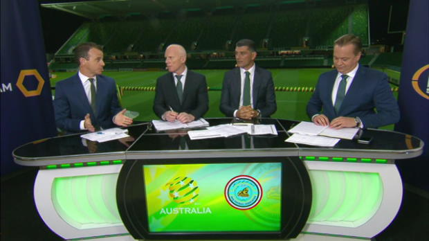 Socceroos win opening WCQ