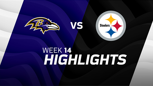 Ravens vs. Steelers highlights | Week 14