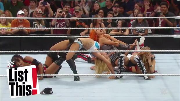 Las 5 Superstrellas de la Evolución de las Mujeres con más victorias: WWE List This! (EN ESPANOL)