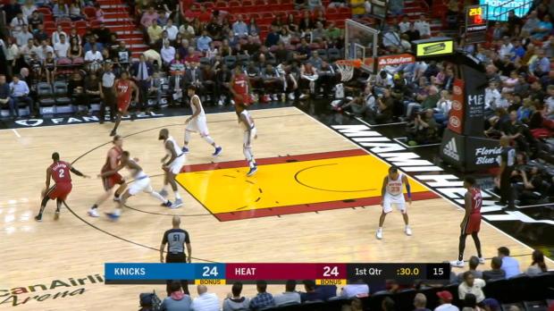 GAME RECAP: Heat 119, Knicks 98