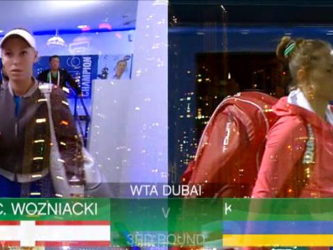 تنس: بطولة دبي: فوزنياكي تهزم بوندارنكو 3-6، 6-2 و6-3