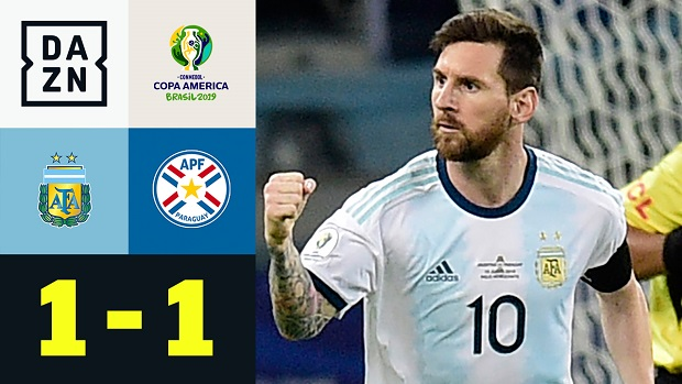 Copa America: Argentinien - Paraguay | DAZN Highlights