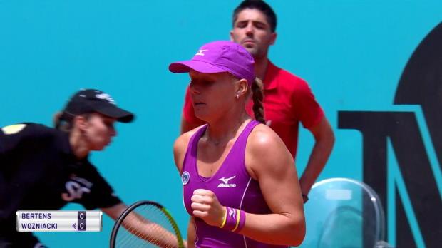 : Madrid - Wozniacki n'a pas existé contre Bertens
