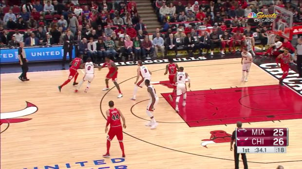 WSC: Justin Holiday with 7 3 pointers vs. Miami Heat