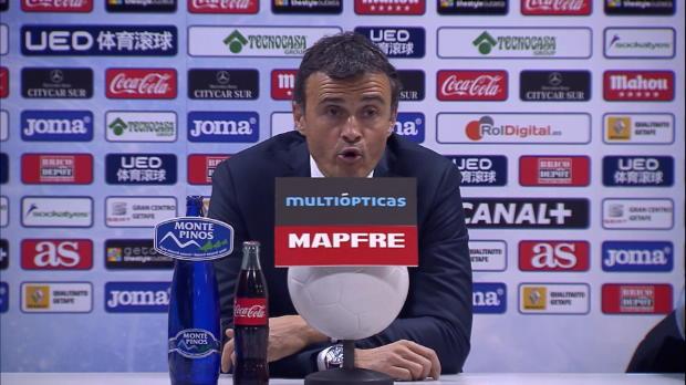 FC Barcelone/ Luis Enrique : « Nous méritions mieux »
