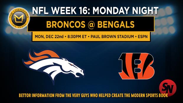 Denver Broncos @ Cincinnati Bengals