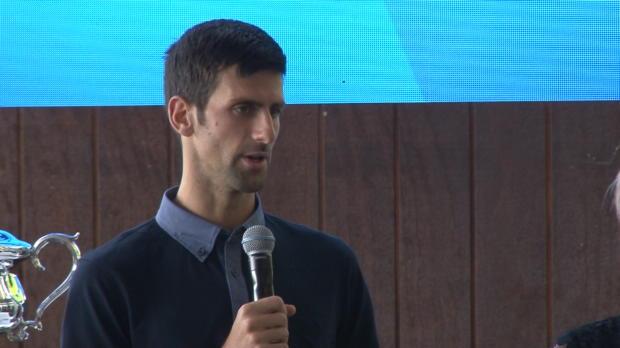 Australian Open: Djokovic: Gegner im Hinterkopf