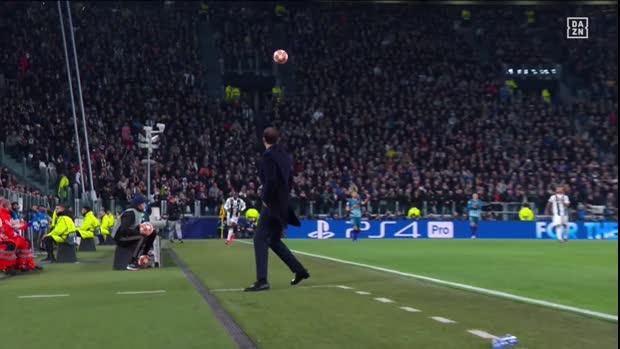 Allegris Sahne-Ballbehandlung   UEFA Champions League Viral
