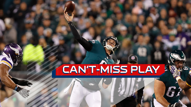 Can't-Miss Play: Nick Foles floats perfect 41-yard TD to Torrey Smith on flea flicker