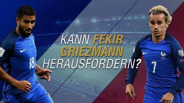 Fekir vs. Griezmann: Wer hat die Nase vorn?