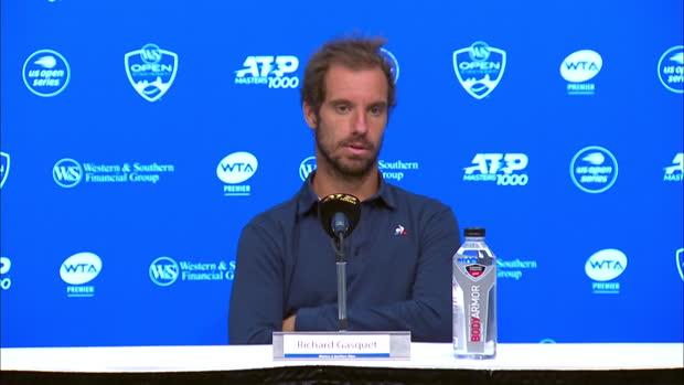 "Tennis : Cincinnati - Gasquet - ""J'ai souffert tout le match"""