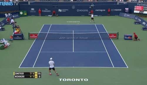 Dimitrov Hot Shot (2): ATP Toronto QF
