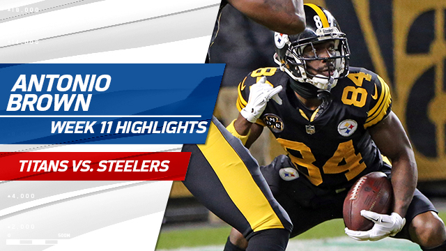 Antonio Brown highlights | Week 11