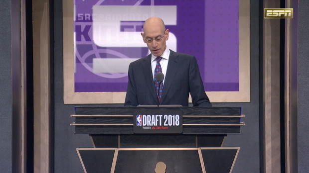 Sacramento Kings Select Marvin Bagley III 2nd Overall