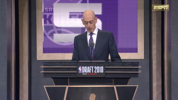 Sacramento Kings Select Marvin Bagley III 2nd Overall