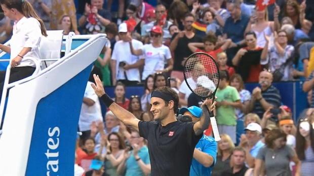 Basket : Hopman Cup - Federer ne fait qu'une bouchée de Zverev