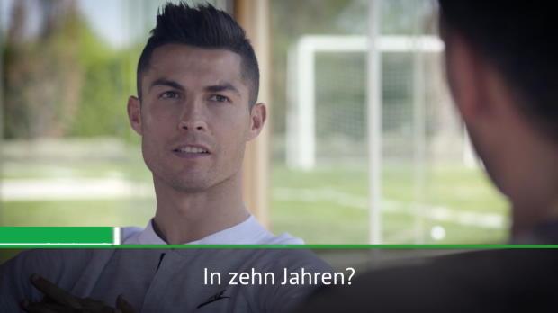 """Ronaldo scherzt: """"Vielleicht werde ich boxen"""""""
