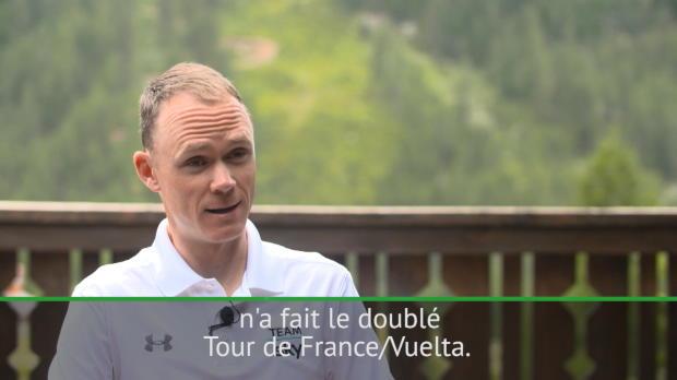 Tour d'Espagne - Froome vise le doublé Tour/Vuelta
