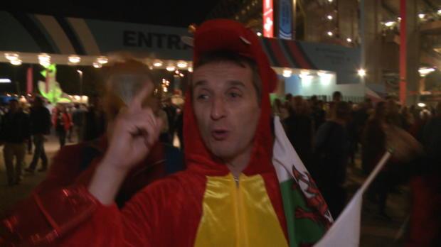 Mondial 2015 - Les supporters gallois et anglais r�agissent