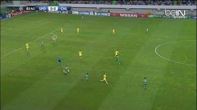 LdC : Sporting 0-1 Chelsea